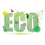 Eco recicl ilustração stock