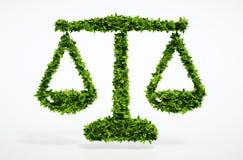 Eco riporta in scala il segno Fotografia Stock Libera da Diritti