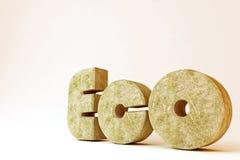 Eco rocheux Images libres de droits