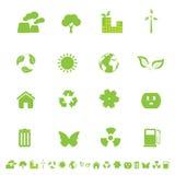 eco środowiska symbole Obraz Royalty Free