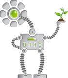 Eco Słonecznika Robot Fotografia Stock