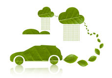 Eco samochód VI Obrazy Stock