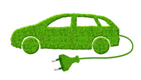 Eco samochód Fotografia Royalty Free