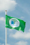 Eco-Schools Flag Stock Images