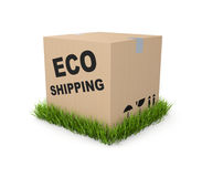 Eco shipping Royalty Free Stock Images