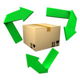 Eco Shipping Stock Photography