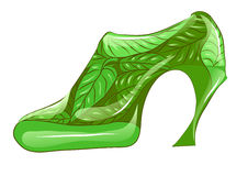 Eco shoe Stock Photography