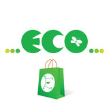 Eco sign and symbol vector Stock Image