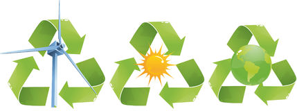 Eco signs Stock Photography