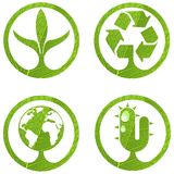 Eco signs. Set 2. Royalty Free Stock Image