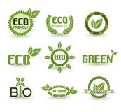 Eco Signs Stock Image