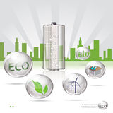 Eco sity Stock Photography