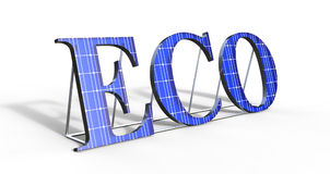 ECO Solar Power Stock Images
