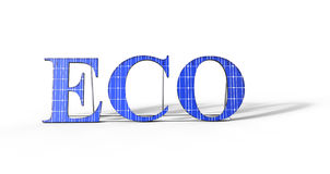 ECO Solar Power Royalty Free Stock Photo