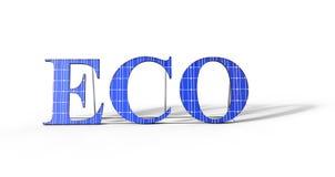ECO Solar Power Royalty Free Stock Photo