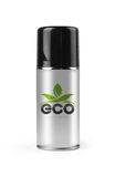 Eco spray with clipping path. Stock Image