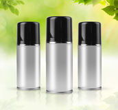 Eco sprays with clipping path Royalty Free Stock Photos