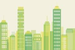 Eco-Stadt Stockfotos
