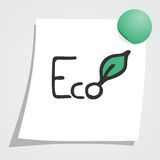 Eco stick Royalty Free Stock Photos