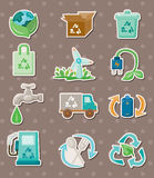Eco stickers Stock Photo