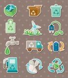 Eco stickers Stock Photo