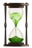 Eco Stundenuhr Stockbild