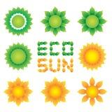 Eco sun Stock Photography