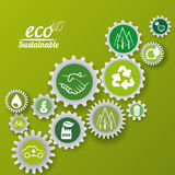 Eco sustainibility Royalty Free Stock Photography