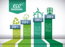 Eco sustainibility. Design,  illustration eps10 graphic Stock Photo