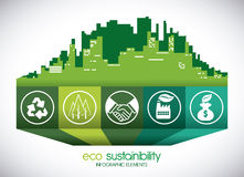 Eco sustainibility Stock Photo