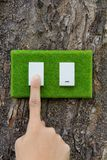 Eco switch Royalty Free Stock Images