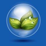 Eco symbol Royalty Free Stock Photography