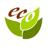 Eco symbol Royalty Free Stock Image
