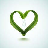 Eco-Symbol Lizenzfreies Stockfoto