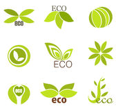 Eco symbols Royalty Free Stock Image