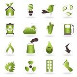 Eco Symbols And Icons Royalty Free Stock Photo