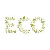 Eco szablon Fotografia Royalty Free