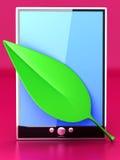 Eco Tablet PC Stock Photos