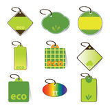 Eco Tag Vectors Royalty Free Stock Images