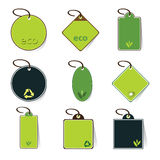 Eco Tag Vectors Stock Photography