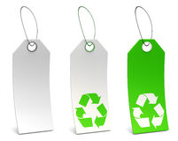 Eco Tags Stock Image