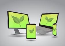Eco tech Royalty Free Stock Image