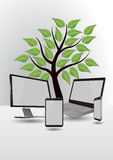 Eco tech Stock Photography