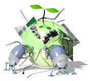 Eco-Technology Stock Images