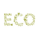 Eco template Royalty Free Stock Photography
