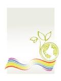 Eco/thème environnemental Illustration Libre de Droits