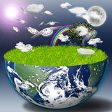 Eco Time Stock Photography