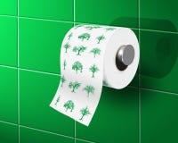 Eco toilet paper Royalty Free Stock Photo