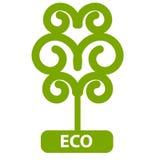 Eco Tree, Isolated On White Background Royalty Free Stock Photography