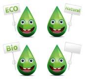 Eco-Tropfen Stockfotografie